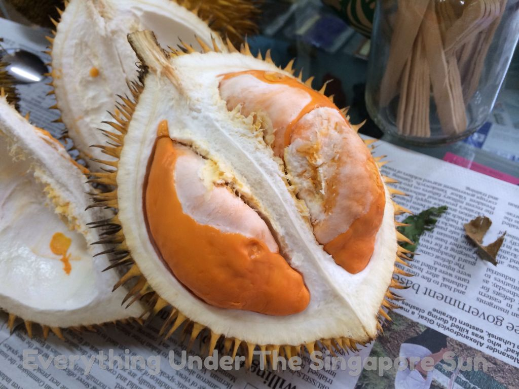 Brunei Kampung Air, Market and a Strange Local Durian